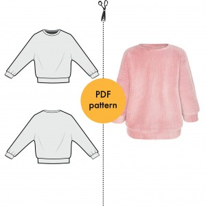 Riley Sweatshirt pattern