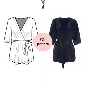 Loren Robe pattern
