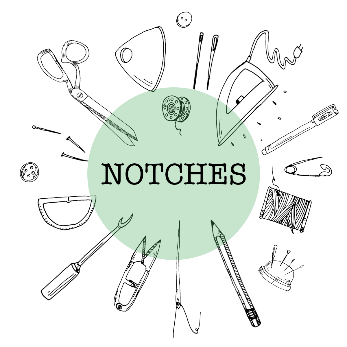 How we should use notches?
